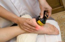 Лечение пяточной шпоры методами физиотерапии