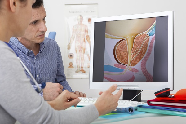 На приеме у врача-уролога по поводу простатита