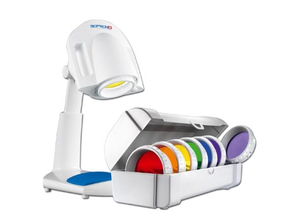 Аппарат Биоптрон для проведения цветотерапии